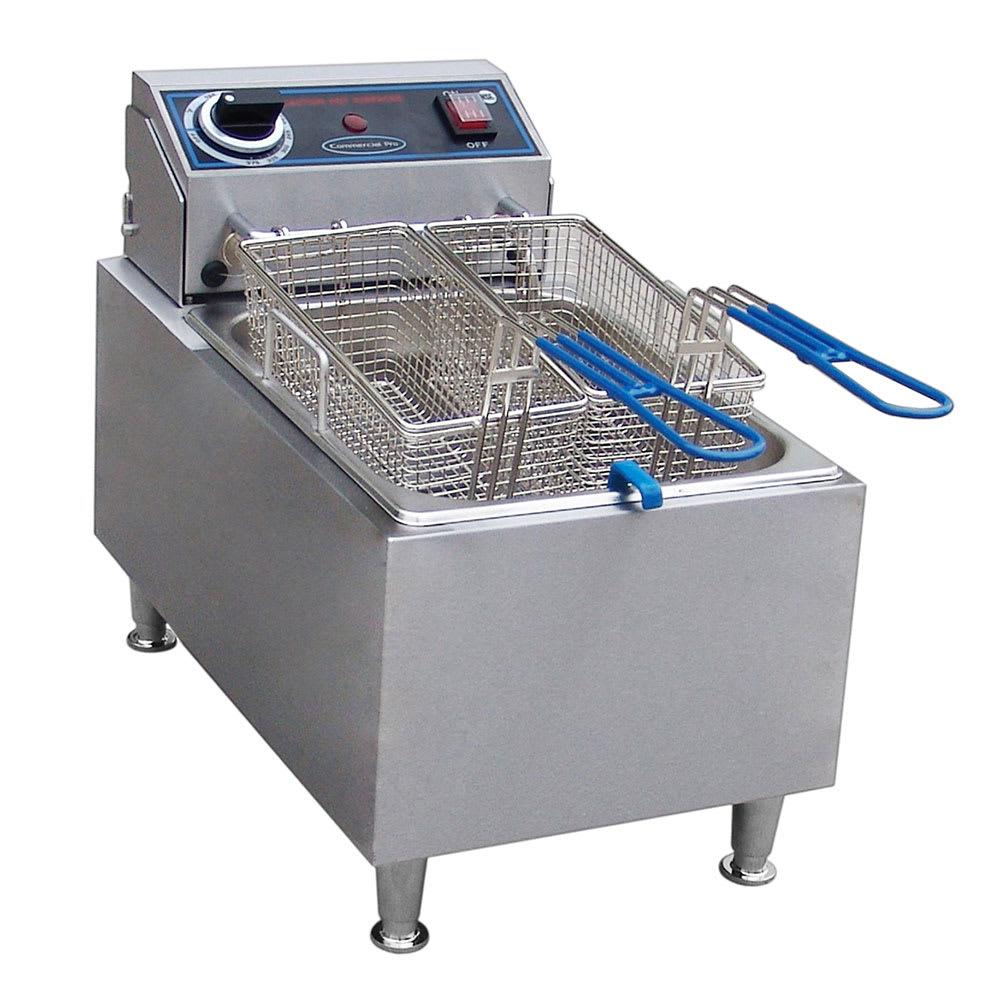 Commercial Pro CPF10 Countertop Electric Fryer - (1) 10 lb Vat, 120v