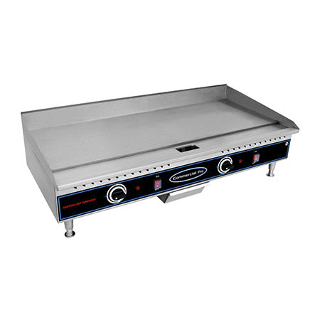 """Commercial Pro CPG36 36"""" Countertop Griddle - Thermostat Control 208-240v"""