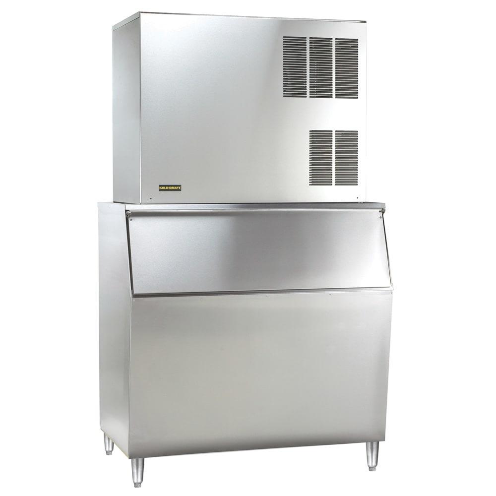 Kold-Draft GB1064AC/KDB950 1075 lb. Full Cube Ice Maker with Bin - 950 lb. Storage, Air Cooled, 208 230v/1ph