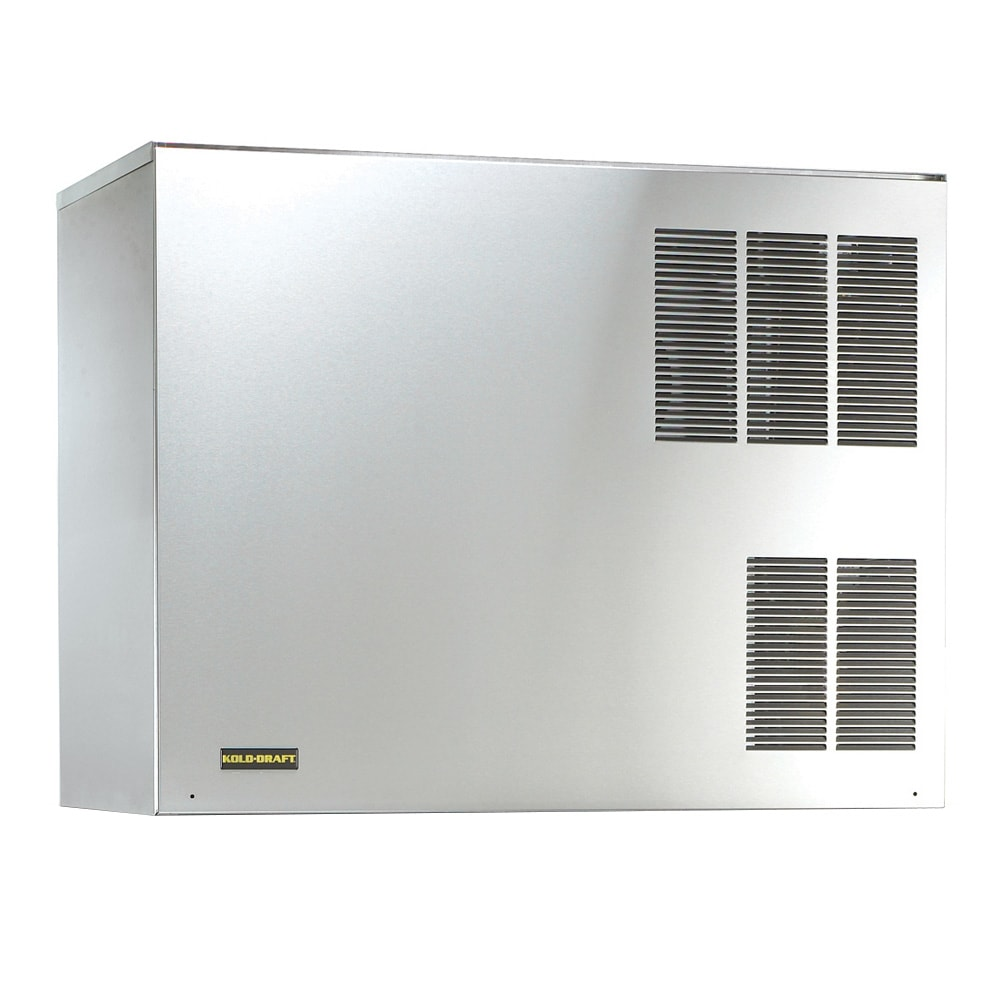"Kold-Draft GB1064LHK 42.3"" Half Cube Ice Machine Head - 1089 lb/24 hr, Water Cooled, 208 230v/1ph"