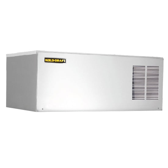 "Kold-Draft GB561LHK 42.3"" Half Cube Ice Machine Head - 585 lb/24 hr, Water Cooled, 115v"