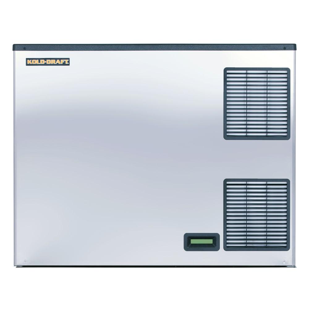 "Kold-Draft GBX1064LHK 42"" X-SERIES Half Cube Ice Machine Head - 1089 lb/24 hr, Water Cooled, 208/230v/1ph"