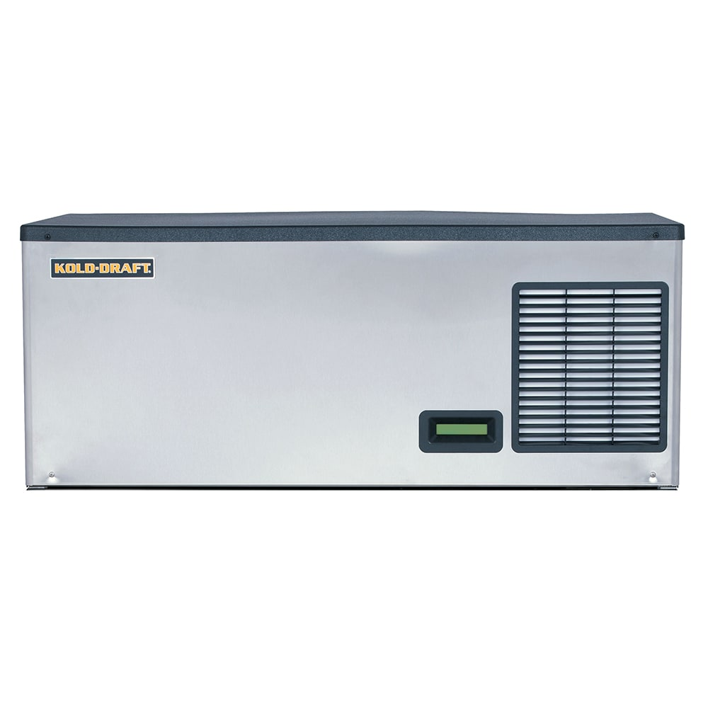 "Kold-Draft GBX561LHK 42.3"" Half Cube Ice Machine Head - 580 lb/24 hr, Water Cooled, 115v"