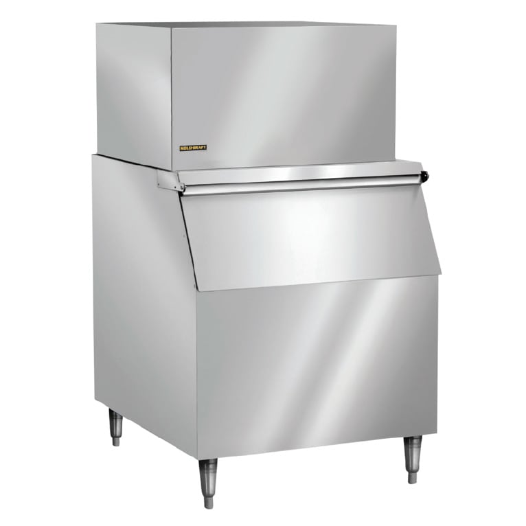 Kold-Draft GT361AC/KDB400 310 lb. Full Cube Ice Maker with Bin - 400 lb. Storage, Air Cooled, 115v