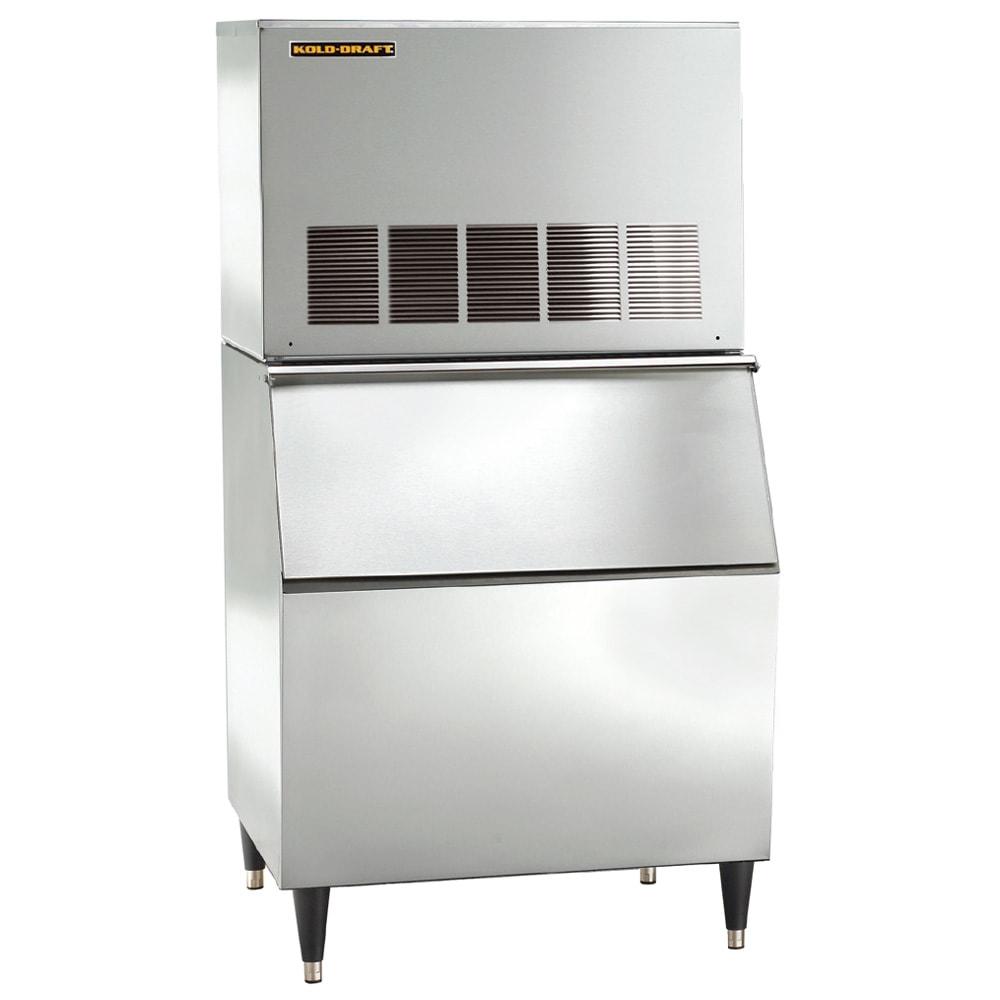 Kold-Draft GT561AC/KDB400 525 lb. Full Cube Ice Maker with Bin - 400 lb. Storage, Air Cooled, 115v