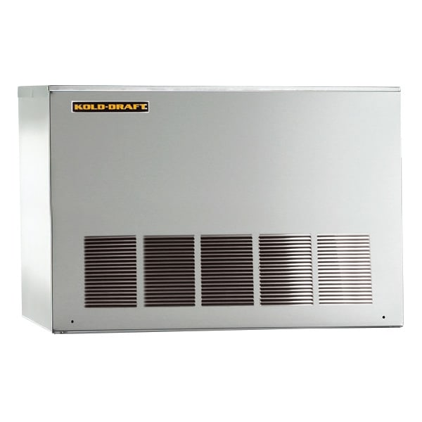"Kold-Draft GT561AHK 30.1"" Half Cube Ice Machine Head - 538 lb/24 hr, Air Cooled, 115v"