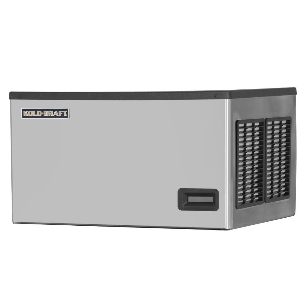 "Kold-Draft GTX364LHK 30.1"" Half Cube Ice Machine Head - 358 lb/24 hr, Water Cooled, 208 230v/1ph"
