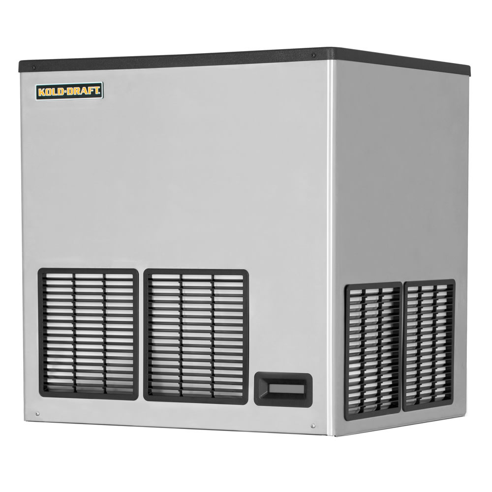 "Kold-Draft GTX561LHK 30.1"" Half Cube Ice Machine Head - 580 lb/24 hr, Water Cooled, 115v"