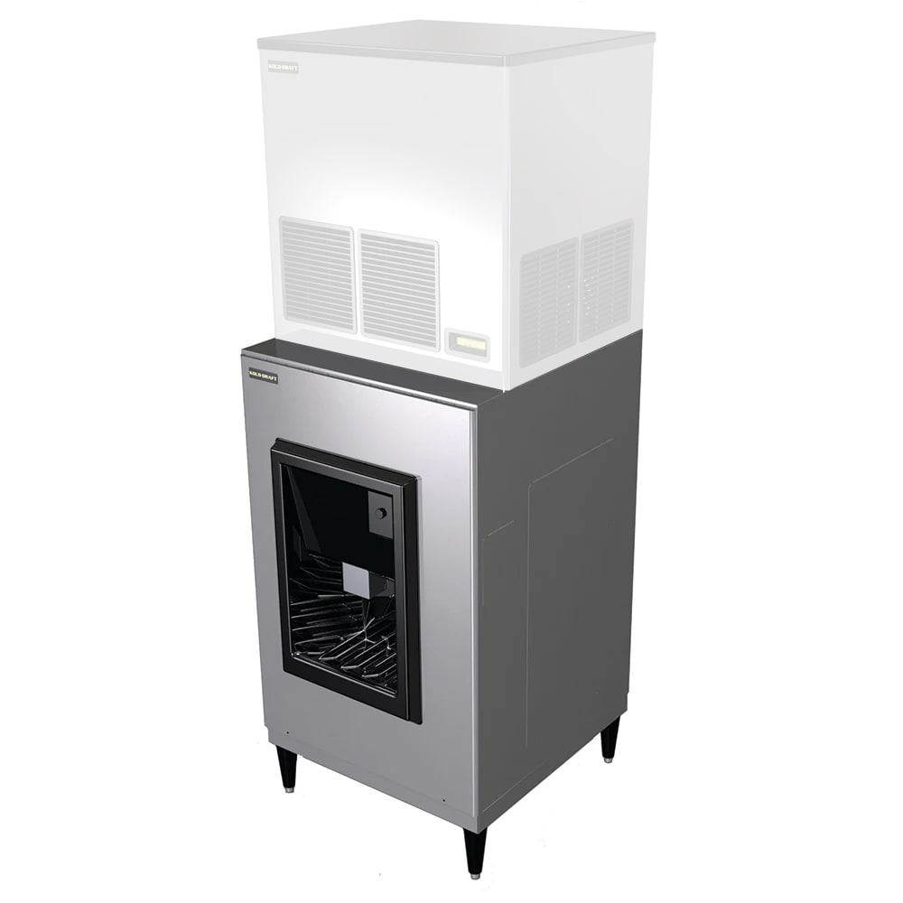 Kold-Draft HD204 Floor Model Cube Ice Dispenser w/ 190 lb Storage - Bucket Fill, 208 230v/1ph