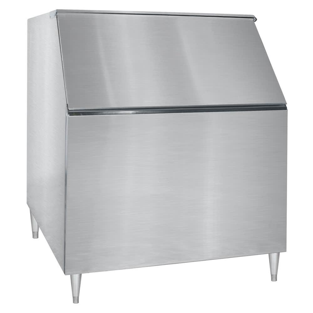 "Kold-Draft KDB950 48"" Wide 950 lb Ice Bin w/ Lift Up Door"