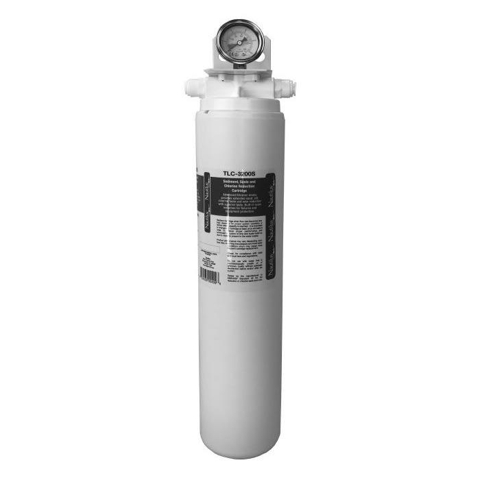 Kold-Draft TLC-107096F Single-Head Nautilus Water Filter w/ Gauge & Carbon Block Cartridge