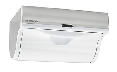 """Innovia WB2-159W Automatic Paper Towel Dispenser w/ 6.5"""" Round Roll Capacity, Stainless, White"""