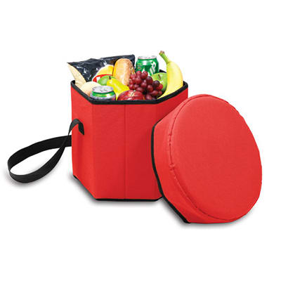 Picnic Time 596-00-100-000-0 12-qt Insulated Bongo Cooler - 250-lb Capacity, Water Resistant, Red