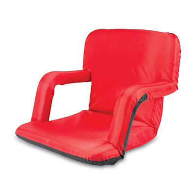 Picnic Time 618-00-100-000-0 Ventura Backpack Seat - Water Resistant, Steel Frame, Armrests, Red