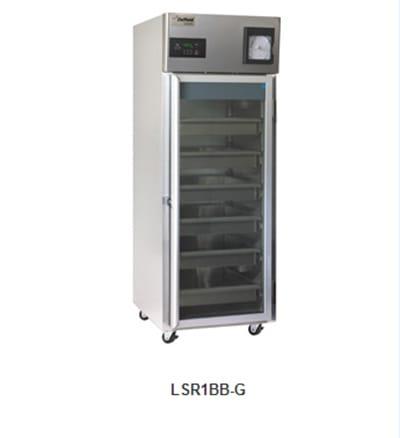 Delfield Scientific LAR1BB-G Full Size Medical Refrigerator - Access Port, 115v