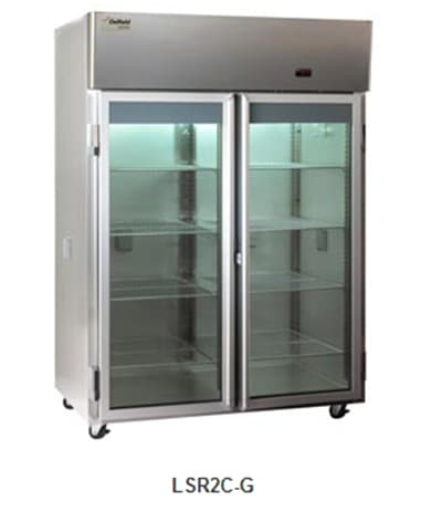 Delfield Scientific LAR2C-G Full Size Medical Refrigerator - Access Ports, 115v