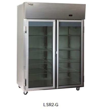 Delfield Scientific LAR2-G Full Size Medical Refrigerator - Access Ports, 115v