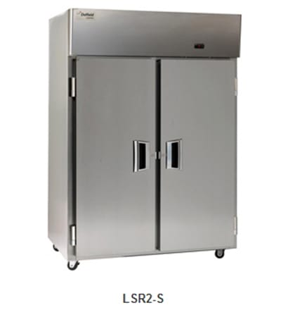 Delfield Scientific LAR2-S Full Size Medical Refrigerator - Access Ports, 115v