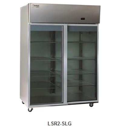 Delfield Scientific LAR2-SLG Full Size Medical Refrigerator - Access Ports, 115v