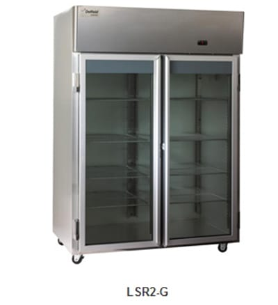 Delfield Scientific LAR3-G Full Size Medical Refrigerator - Access Ports, 115v