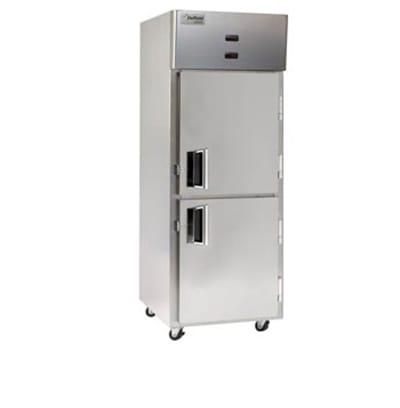 Delfield Scientific LMDTR1-SH Full Size Dual Temp Medical Refrigerator Freezer - Access Ports, 115v