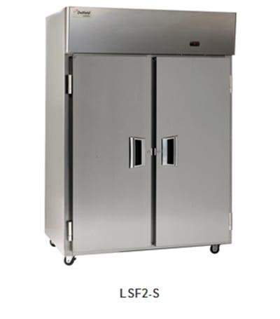 """Delfield Scientific LMF1-S 29"""" Single Section Reach-In Freezer, (1) Solid Door, 115v"""