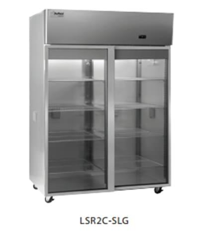 Delfield Scientific LSR2C-SLG Full Size Medical Refrigerator - Access Ports, 115v