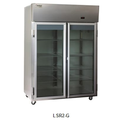 Delfield Scientific LSR2-G Full Size Medical Refrigerator - Access Ports, 115v
