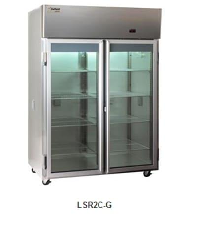 Delfield Scientific LSR3C-G Full Size Medical Refrigerator - Access Ports, 115v