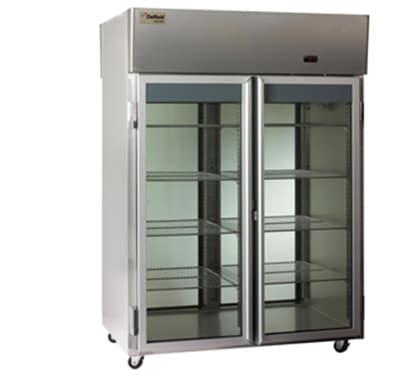 Delfield Scientific LSRPT1-G Full Size Medical Refrigerator - Pass-Thru, 115v