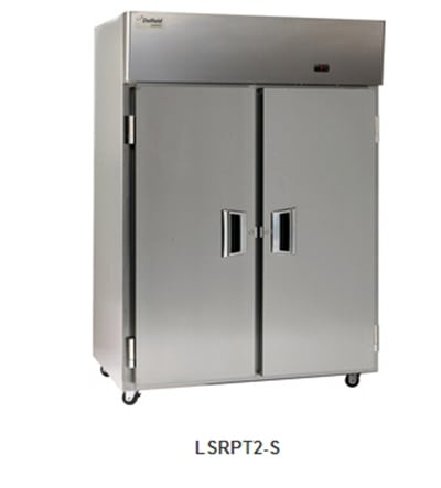 Delfield Scientific LSRPT2-S Full Size Medical Refrigerator - Pass-Thru, 115v