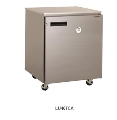 Delfield Scientific LU407-DT 5.7-cu ft Undercounter Freezer w/ (1) Section & (1) Door, 115v