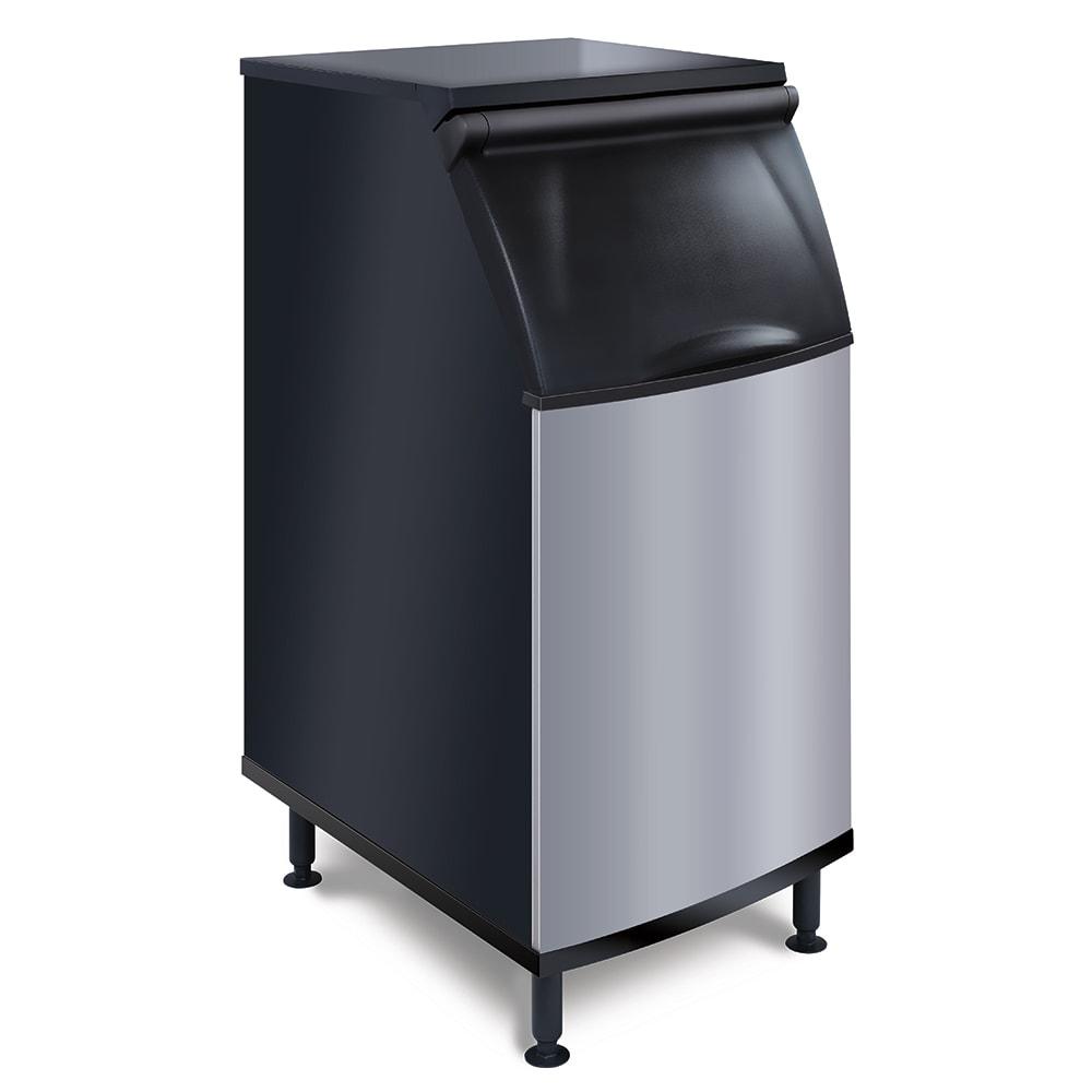 """Koolaire K-420 22"""" Wide 310-lb Ice Bin with Lift Up Door"""