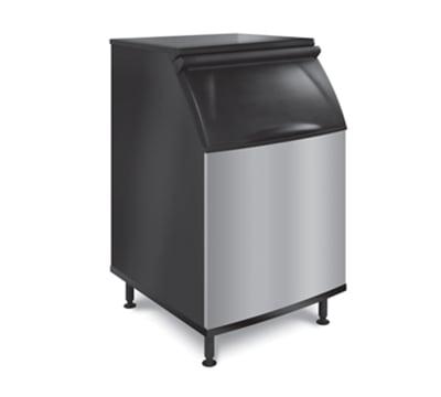 """Koolaire K-570 30"""" Wide 430-lb Ice Bin with Lift Up Door"""