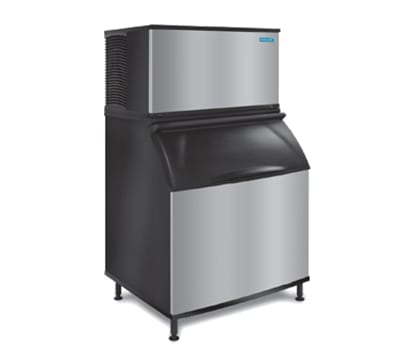 """Koolaire KD-1350A 48"""" Cube Ice Machine head - 1491-lb/day, Air Cooled, 208v/1ph"""