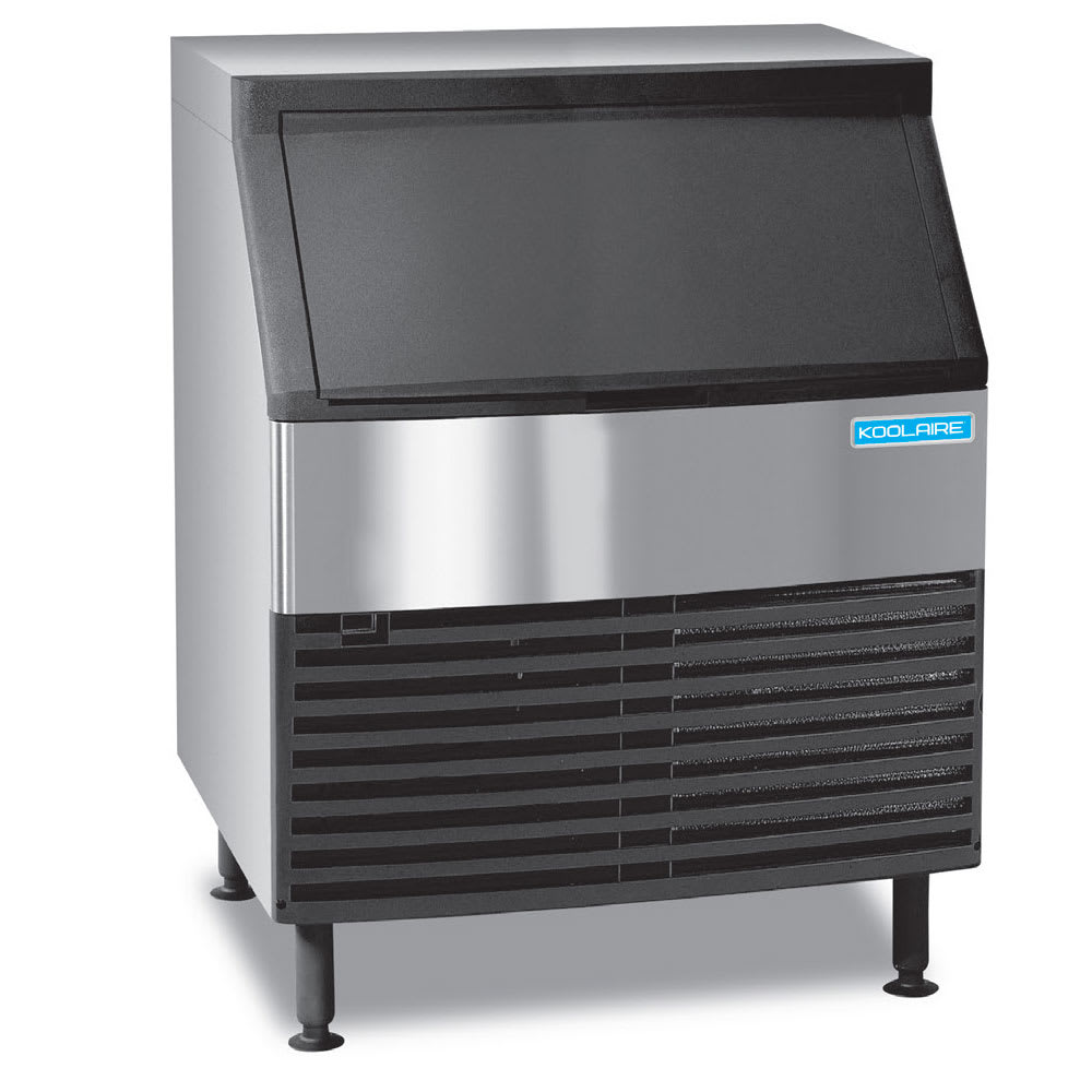 """Koolaire KDF-0250A 38.5""""H Full Cube Undercounter Ice Maker - 256 lbs/day, Air Cooled"""