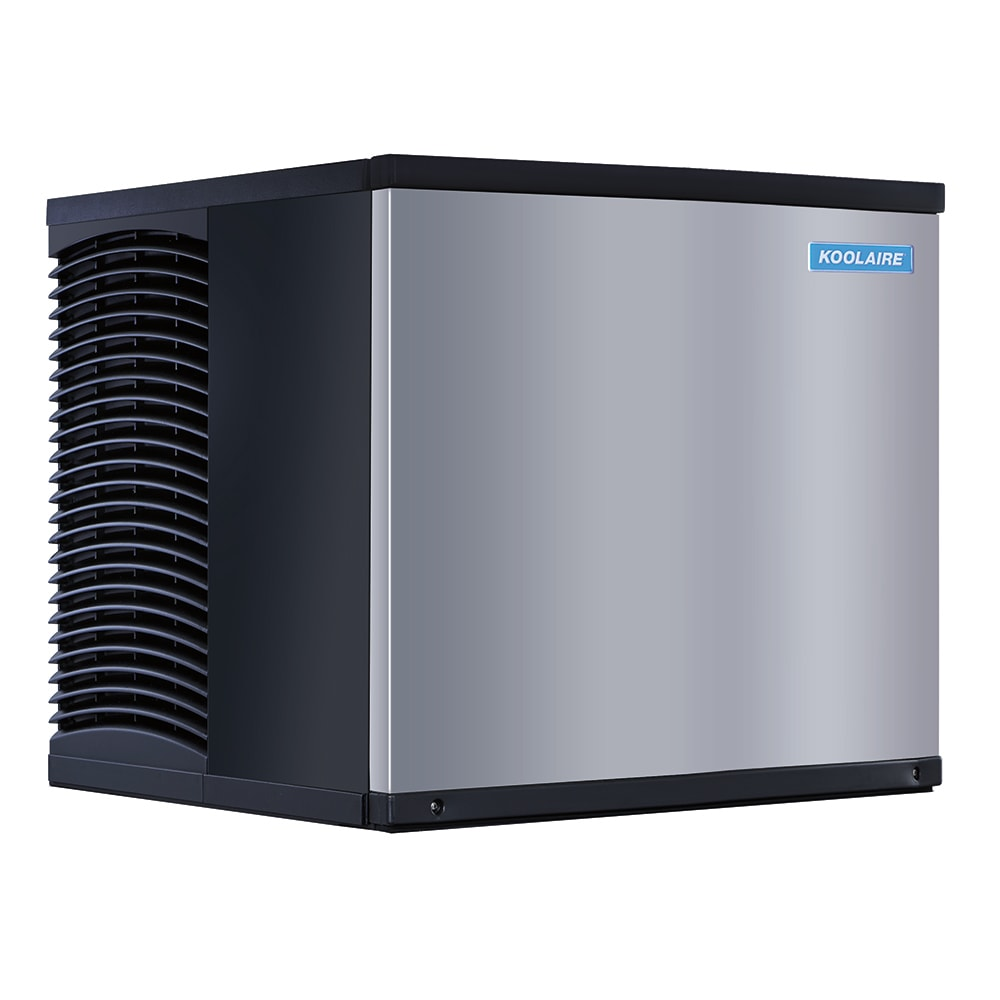 """Koolaire KDT-0420W 22"""" Full Cube Ice Machine Head - 457-lb/day, Water Cooled, 115v"""