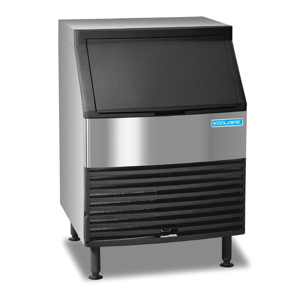"""Koolaire KYF-0150A 38.5""""H Full Cube Undercounter Ice Maker - 169 lbs/day, Air Cooled"""