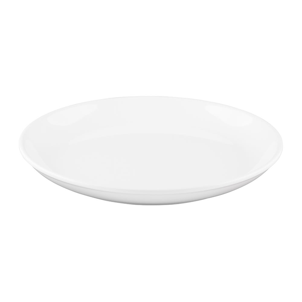 """Elite Global Solutions B1014R 10.25"""" Round Santorini Plate - Melamine, White"""
