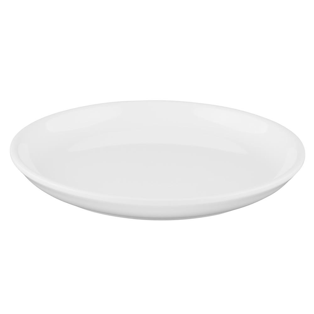 """Elite Global Solutions B75R 7.5"""" Round Santorini Plate - Melamine, White"""