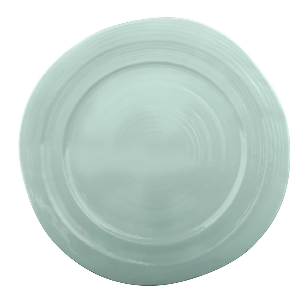 "Elite Global Solutions D101-MG 10"" Round Della Terra Plate - Melamine, Mint Green"