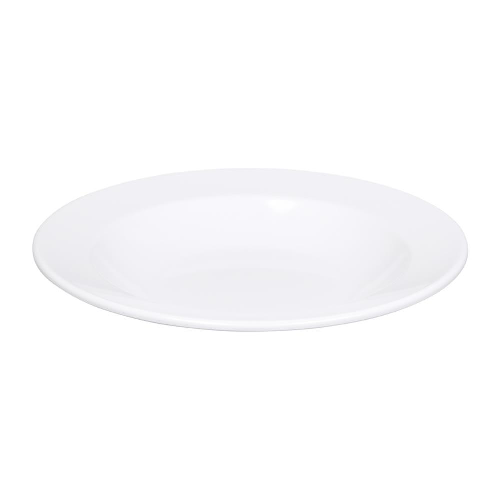 Elite Global Solutions D12PB-W 24-oz Merced Pasta/Soup Bowl - Melamine, White