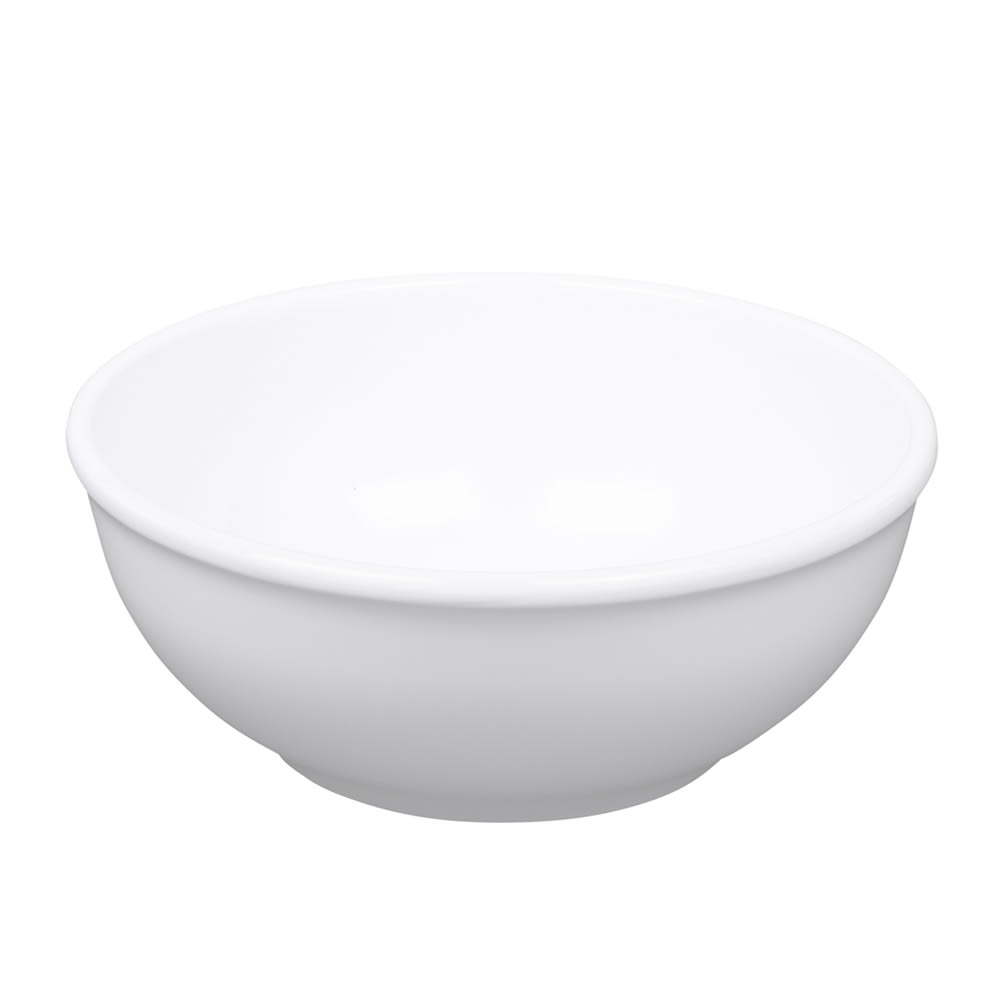 Elite Global Solutions D634B-W 28 oz Merced Bowl - Melamine, White
