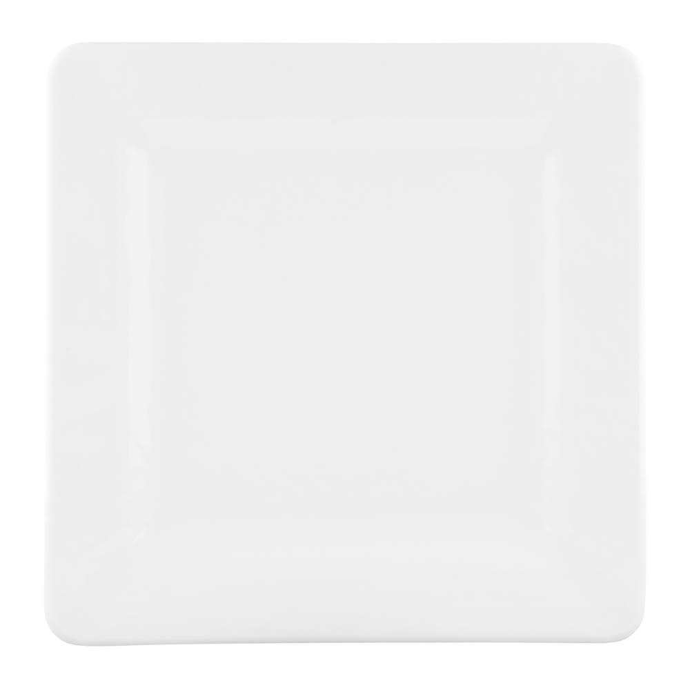 "Elite Global Solutions D7SQRR-W 7"" Pebble Creek Plate - Melamine, White"