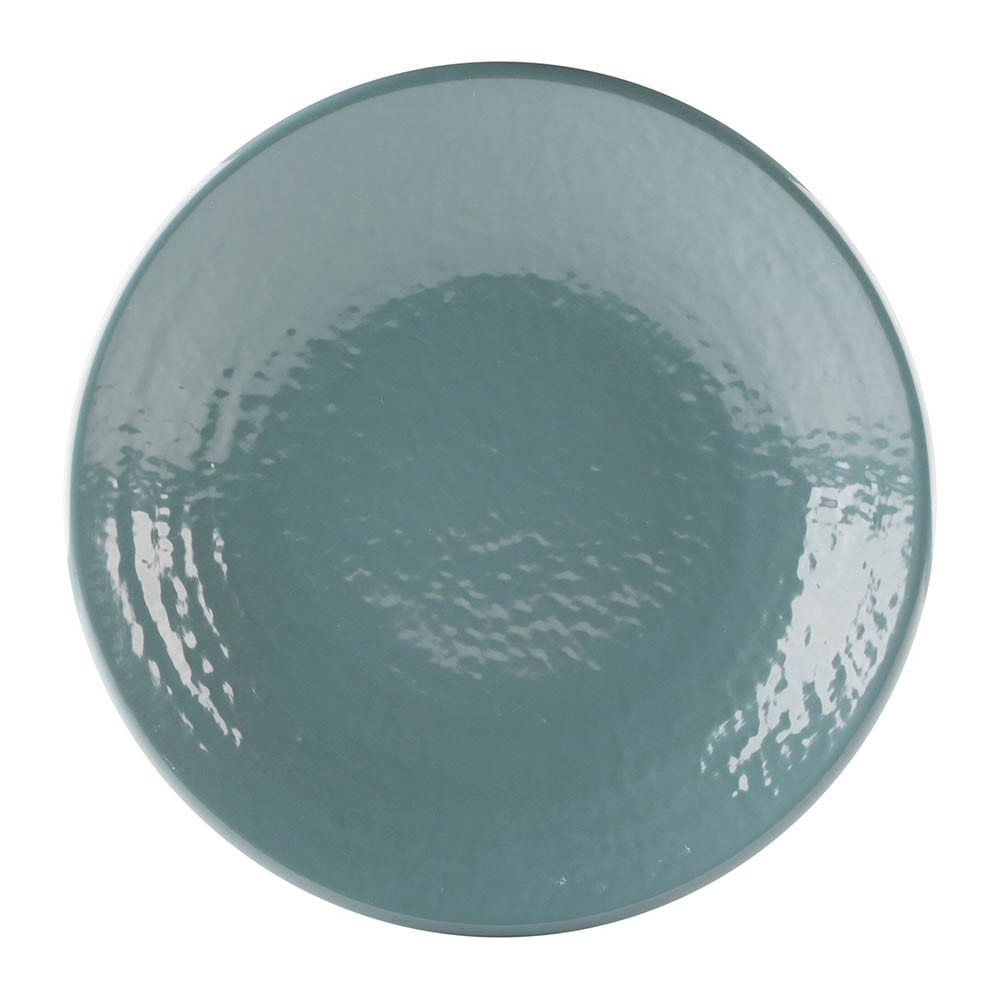 """Elite Global Solutions D814RR 8.25"""" Round Pebble Creek Plate - Melamine, Abyss"""