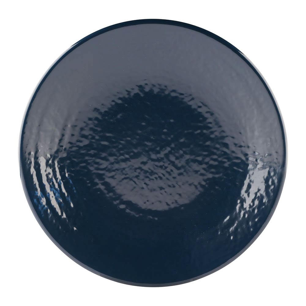 "Elite Global Solutions D814RR 8.25"" Round Pebble Creek Plate - Melamine, Lapis"