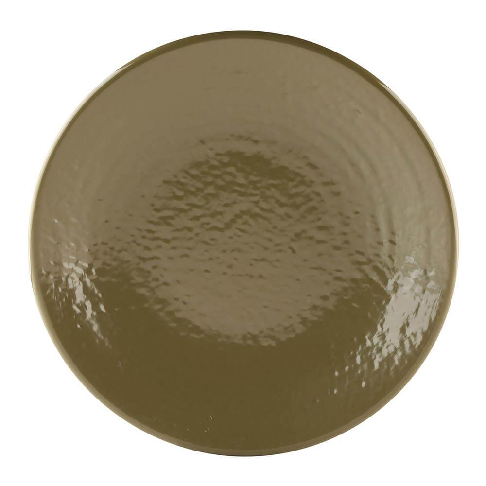 "Elite Global Solutions D814RR 8.25"" Round Pebble Creek Plate - Melamine, Lizard"