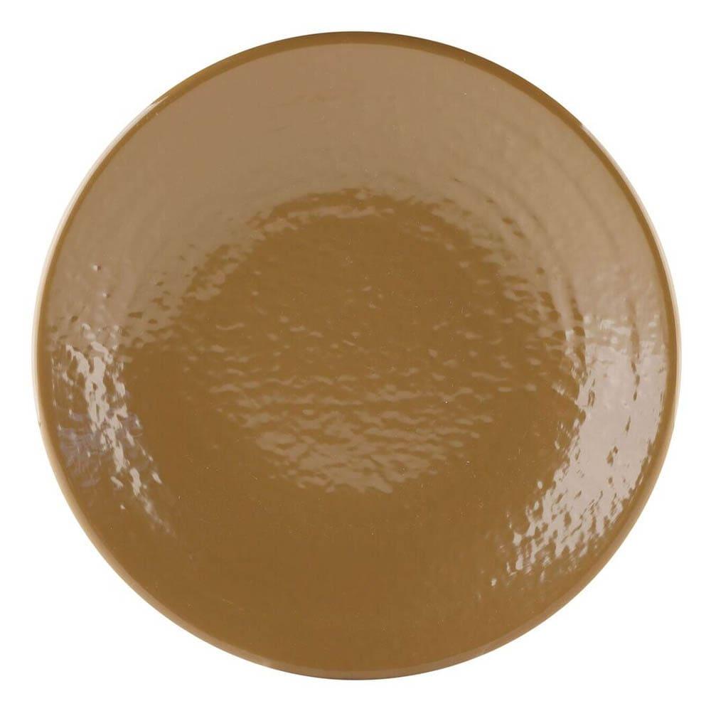 "Elite Global Solutions D814RR 8.25"" Round Pebble Creek Plate - Melamine, Tapenade"