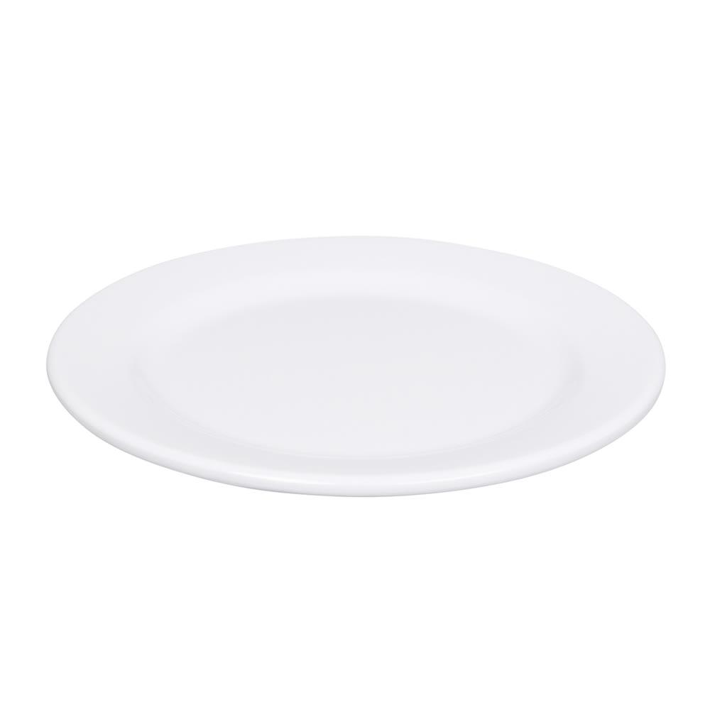 """Elite Global Solutions D9PL-W 9"""" Merced Plate - Melamine, White"""