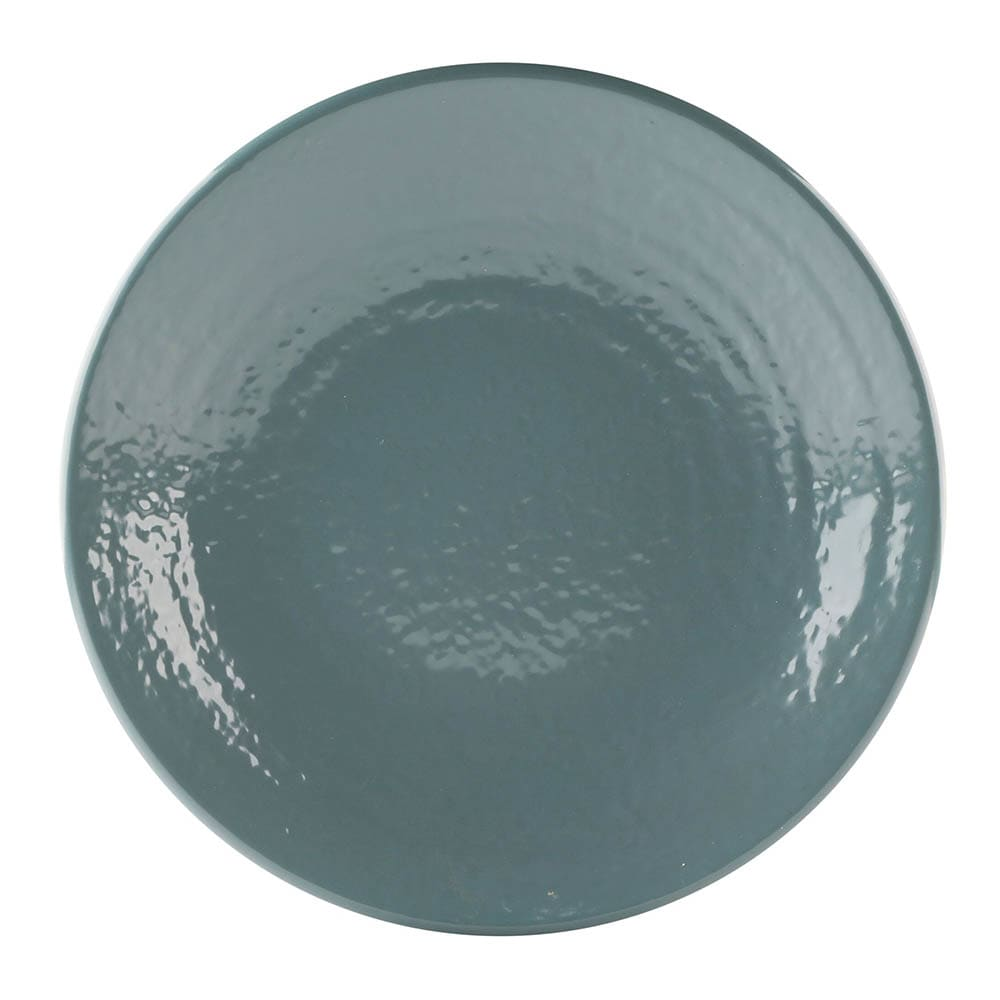 """Elite Global Solutions D9RR 9"""" Round Pebble Creek Plate - Melamine, Abyss"""